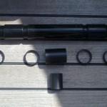 Future Fibres Stay Quiet TM komplet za dušenje vibracij na PBO snasti