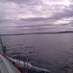 Shipman 72 - Moksha se približuje A Corun-i, Španija